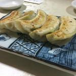 中華 渓竜 - 料理写真:わさび餃子480円