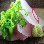 海菜寺 - 相模湾産金目鯛お造り