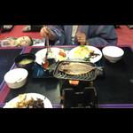 ラヴィエ川良 - 朝食は宴会場で(^∇^)