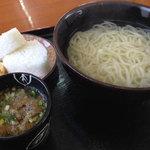 なかむら - 料理写真:釜揚げうどん
