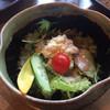 ラプティトゥポルト - 料理写真:スパイシーサラダ。