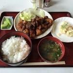 セブン - 料理写真:みそかつ定食¥800