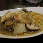 モンゴリアン・チャイニーズ BAO - 羊のスープ煮込み
