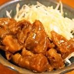 樽 金盃 - すじ味噌煮