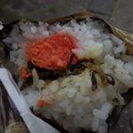 41637624 - 明太子と高菜がたっぷり!
