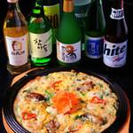チェゴヤ - 韓国のお酒は、チヂミによく合います。