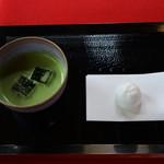 41638875 - 抹茶セット¥500-