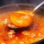 チェゴヤ - 当店自慢♪元祖スンドゥブチゲ やみつきのスープ★その正体は、お店で丁寧に手作りした調味スパイス『タテギ』と牛スープ!マシッソヨ♪