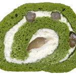 千紀園 - 宇治抹茶ロールケーキ