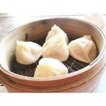 Hibusuma - 南翔小籠包と辣椒麺のセット1190円