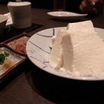 旬感・炭・炙り 高井 - おぼろ豆腐