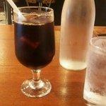 41643096 - アイスコーヒー&お水
