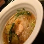 焼肉萬野ホルモン舗 - 冷麺ハーフ
