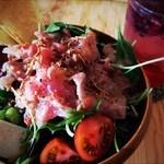 オハナカフェ - 有機野菜のサラダボウル!大人気メニューです‼︎