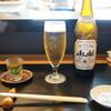 なかむら - ドリンク写真:まずはビール