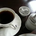 Chiffon Cafe Soie - シフォンケーキセットのブレンドコーヒー