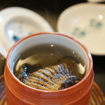 なかむら - 継酒追加、白鶴の辛口です
