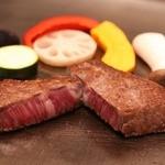 鉄板焼・旬彩 ほづみ - 料理写真:黒毛和牛ステーキ
