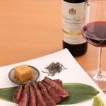 鉄板焼・旬彩 ほづみ - ワインとのマリアージュ
