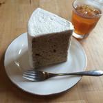 ラ・プラージュ - 料理写真:2015.9 紅茶のシフォンケーキ