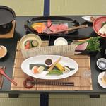 くつろぎ宿 新滝 - 料理写真:夕食(野遊び膳)