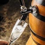 カフェ&ダイニング デルフィーノ - ドリンク写真:樽生スパークリングワイン