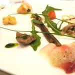 パリジェンヌ - シェフおまかせ前菜9品の盛り合わせ