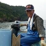 PIENO - サザエ、梅貝を届けてくれてる漁師さんです。