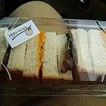 カフェ メラ ローサ - 料理写真:サンドイッチ