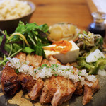 ピパーチキッチン - 県産豚肩ロースのソテー