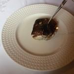 アル・ケッチァーノ - 鯛のほっぺたのオーブン焼きとキャビア