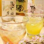 ごだいご - ドリンク写真:梅酒も豊富にご用意してます♪