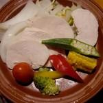 41658278 - 夏野菜と鶏肉のヘルシー蒸し