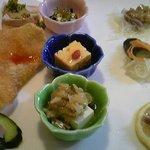 中華菜家 海岸楽園 - 彩華ランチの前菜
