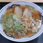 愛鷹パーキングエリア(下り)・スナックコーナー - ラーメン610円