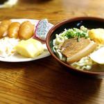 冨士食堂 - 沖縄そば・大東寿司セット