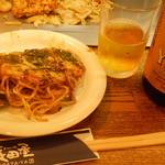 お好み焼 長田屋 - 瓶エビス 580円