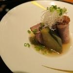 茶寮 瀧乃家 - 肉と茄子