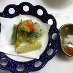 TOTOシーウィンド淡路 - 天麩羅盛り合わせ