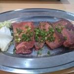 焼肉 壱 - 塩タン(厚切り)
