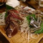 41666554 - 秋刀魚の刺身盛り合わせ