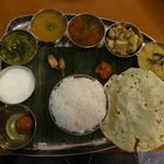 南インドの伝統料理(ノンベジタリアン)