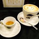 Cafe Terrasse ポコアポコ - エスプレッソ&カフェラテ・セット