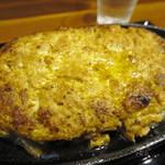 松山食堂 - あぐーワンポンドバーグ定食