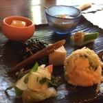 かぜのたみ - 料理写真:前菜盛り合わせ
