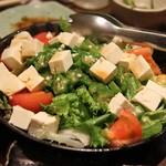 41668936 - おくらと豆腐の柚子サラダ