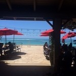 Barefoot Beach Cafe - 海を見ながら食べる