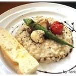 セミナーレ - 料理写真:国産十五穀米のパルミジャーノリゾット
