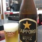 桃太楼 - ビール(500円)