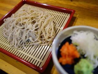 食彩ずいちょう - 手打ち蕎麦(¥700外税舌触りの良い、専門店でも難しいレベル)